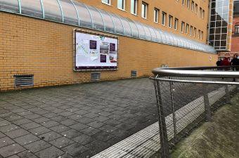 Nóg meer informatie over Groningen Spoorzone? Kijk eens op het station!